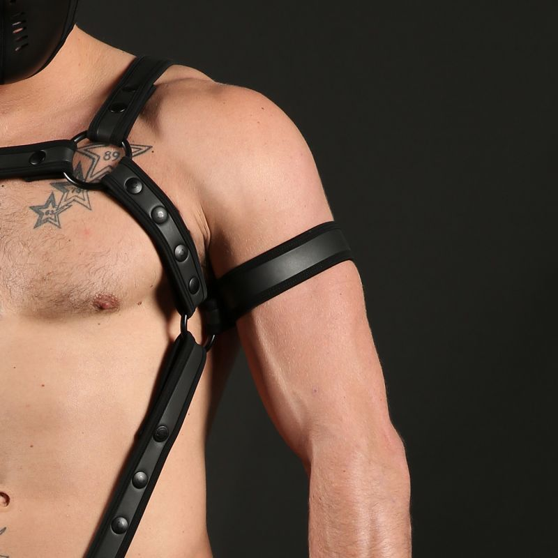 Clothing, Mr. S Leather, Neoprene, Bicep cuff, Fetish, Watersports, Clothing, Neoprene, Accessories