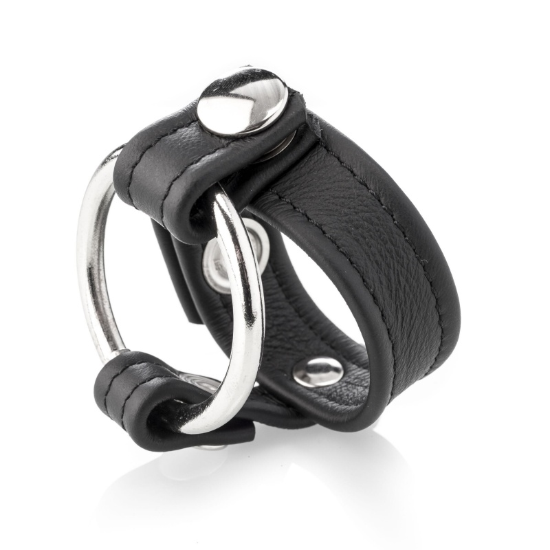 Leather cockring