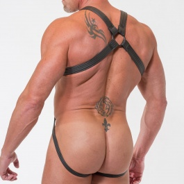 Total Jock Neoprene Harness 665LEATHER